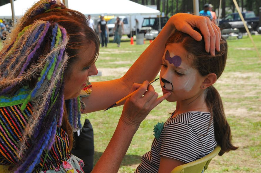 face painting carnaval
